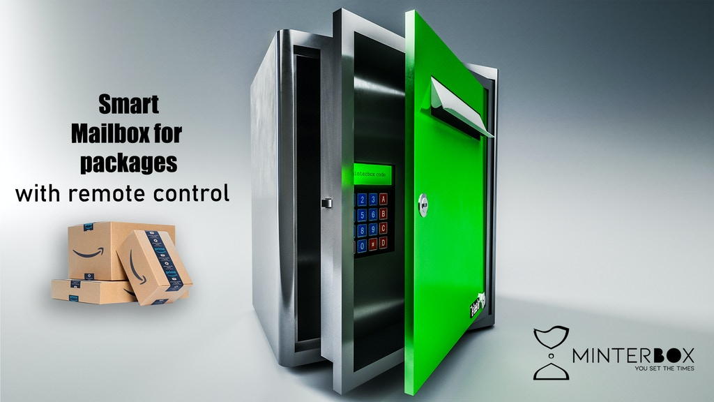 Minterbox® Smart Mailbox | The mailbox for packages & mails.