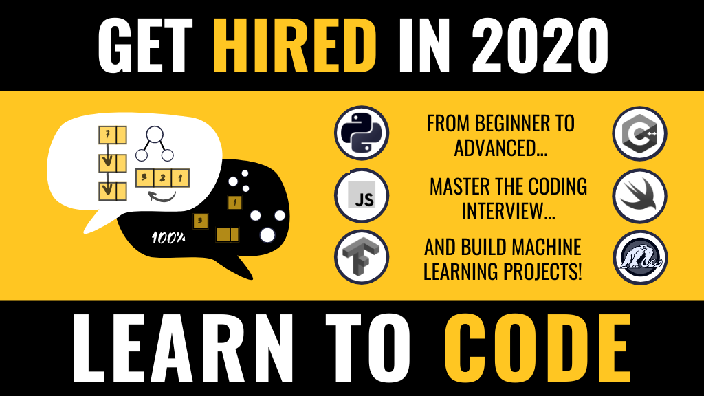 Code and Get Hired - Complete 2020 Learn to Code Guide 💪 project video thumbnail