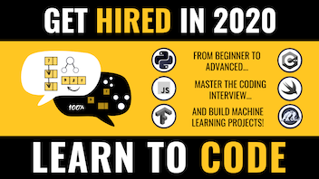 Code and Get Hired - Complete 2020 Learn to Code Guide 💪