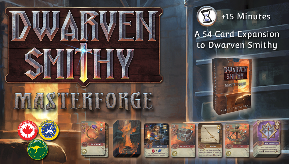 Dwarven Smithy: Masterforge project video thumbnail