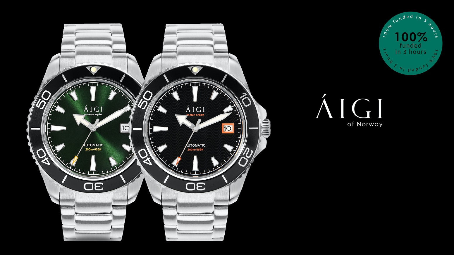 A robust Scandinavian designed quality dive watch, at an amazing price