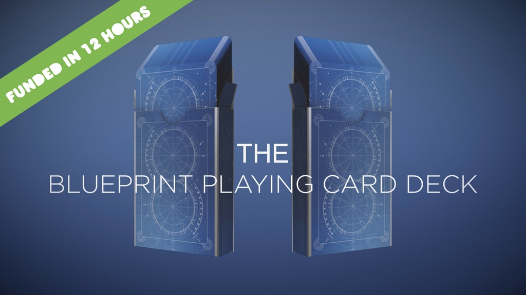 The Blueprint Playing Card Deck project video thumbnail