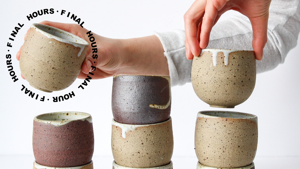 Help us bring clay to life! Handmade ceramics. project video thumbnail