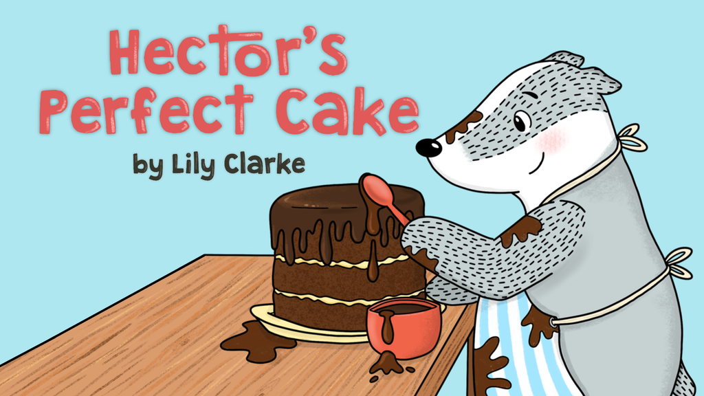 Hector's Perfect Cake - Illustrated Picture Book project video thumbnail