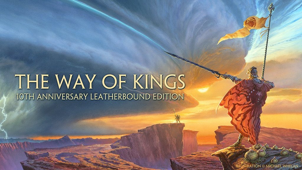 The Way of Kings 10th Anniversary Leatherbound Edition project video thumbnail