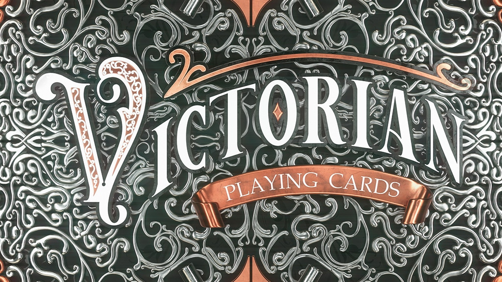 Victorian playing cards project video thumbnail