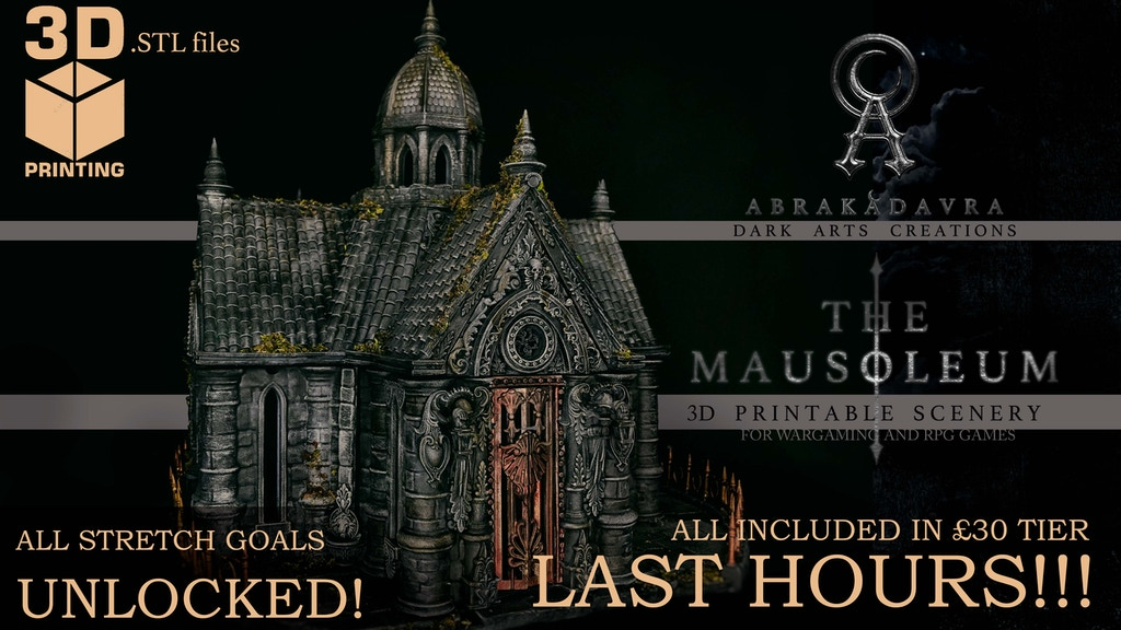 THE MAUSOLEUM project video thumbnail