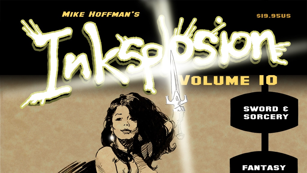 Inksplosion Volume 10 Ink Art by Mike Hoffman project video thumbnail