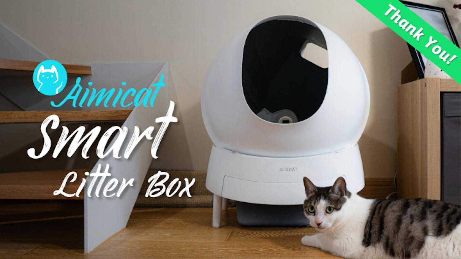 Aimicat The Automatic Kitty Litter Cleaning Companion By Aimicat Kickstarter