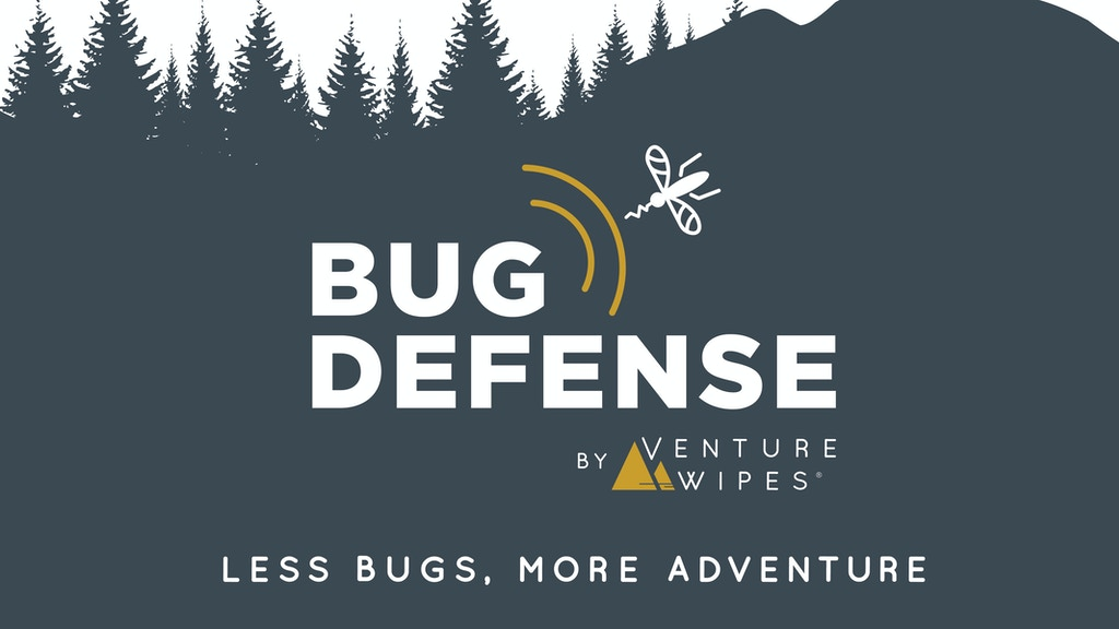 Bug Defense by Venture Wipes - Less Bugs, More Adventure