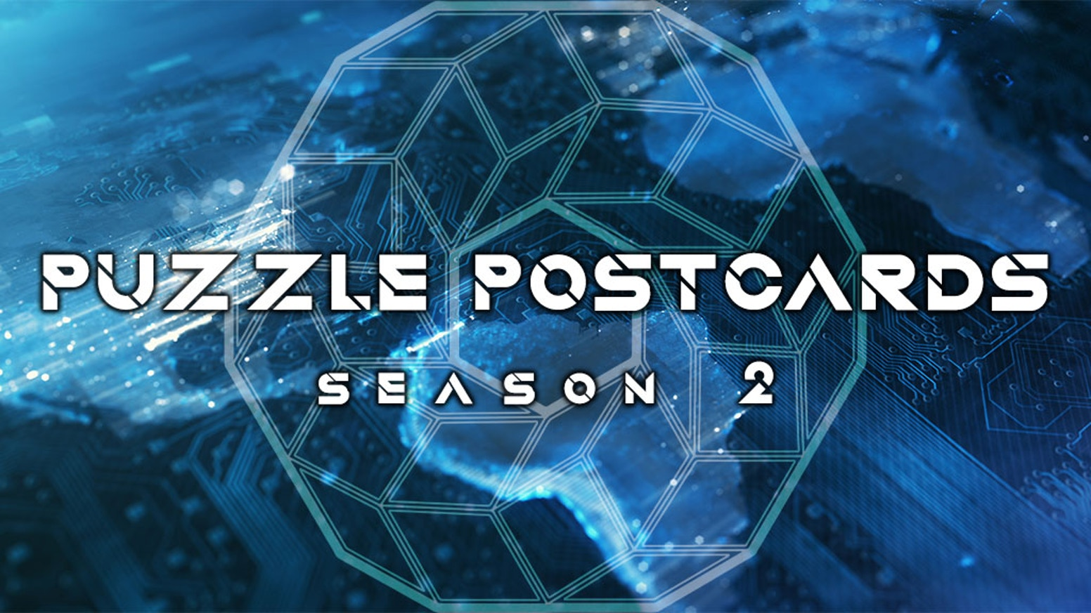 Four new intense and exciting puzzle games in postcard form.