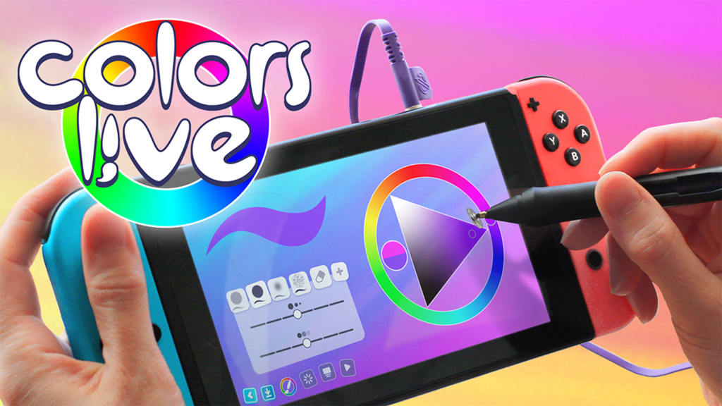 Colors Live with Pressure-Sensitive Pen for Nintendo Switch project video thumbnail