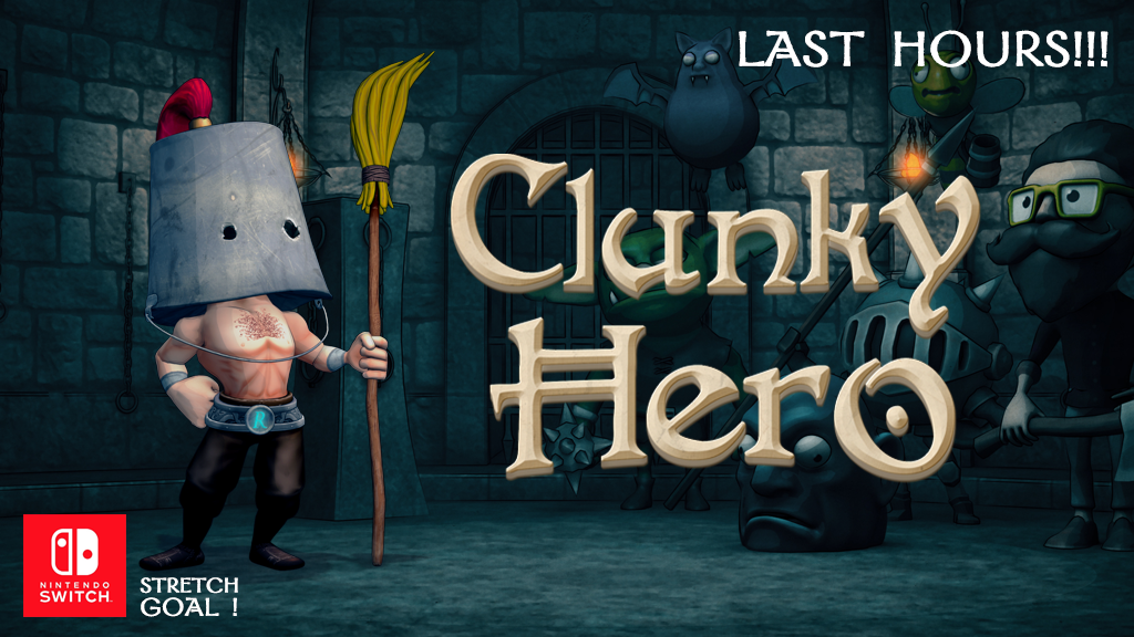 Clunky Hero project video thumbnail