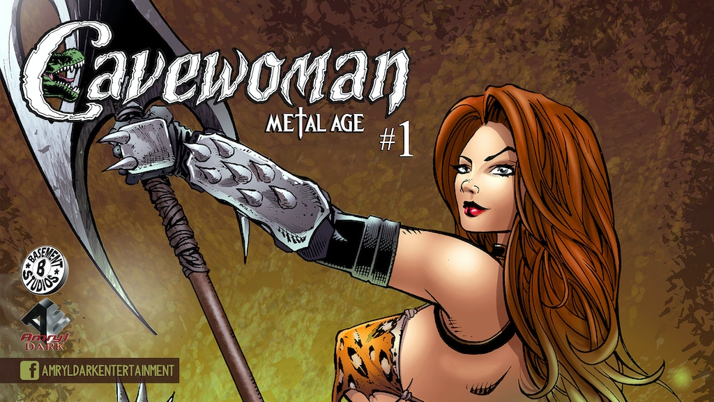 Project image for Cavewoman: Metal Age #1 comic from Amryl Dark Entertainment