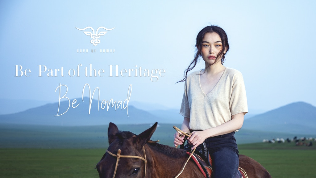 Born of Nomad – Cashmere from the Mongolian Steppe