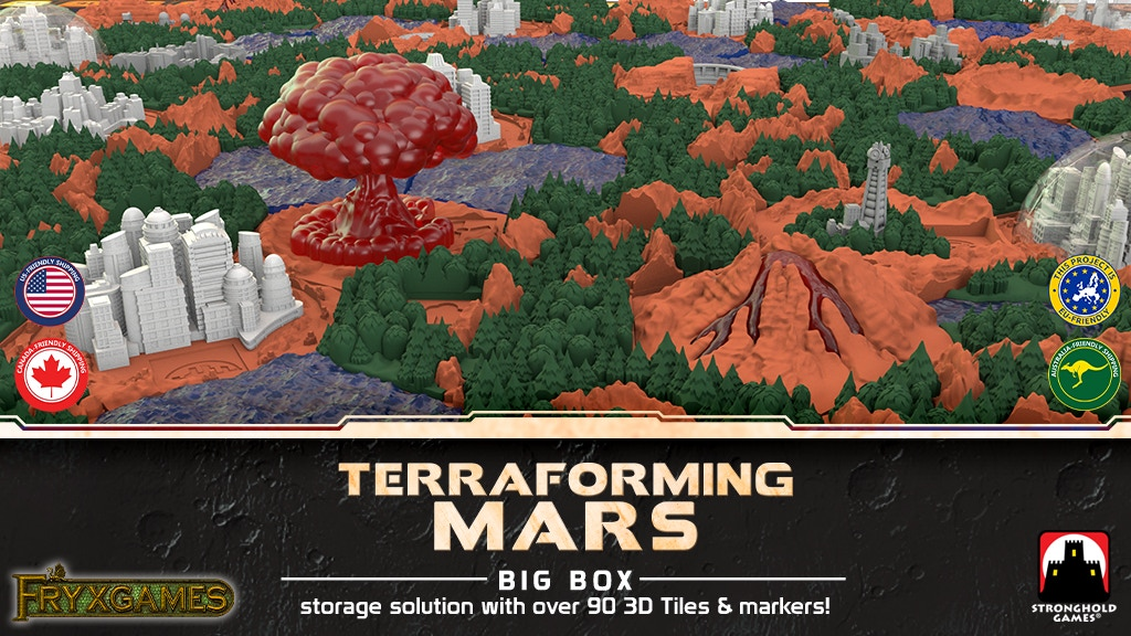Terraforming Mars Big Box + 3D Tiles! project video thumbnail