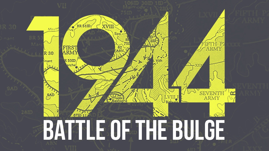 Battle of the Bulge 1944 project video thumbnail