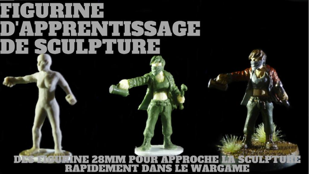 Project image for figurine d'apprentissage de sculpture