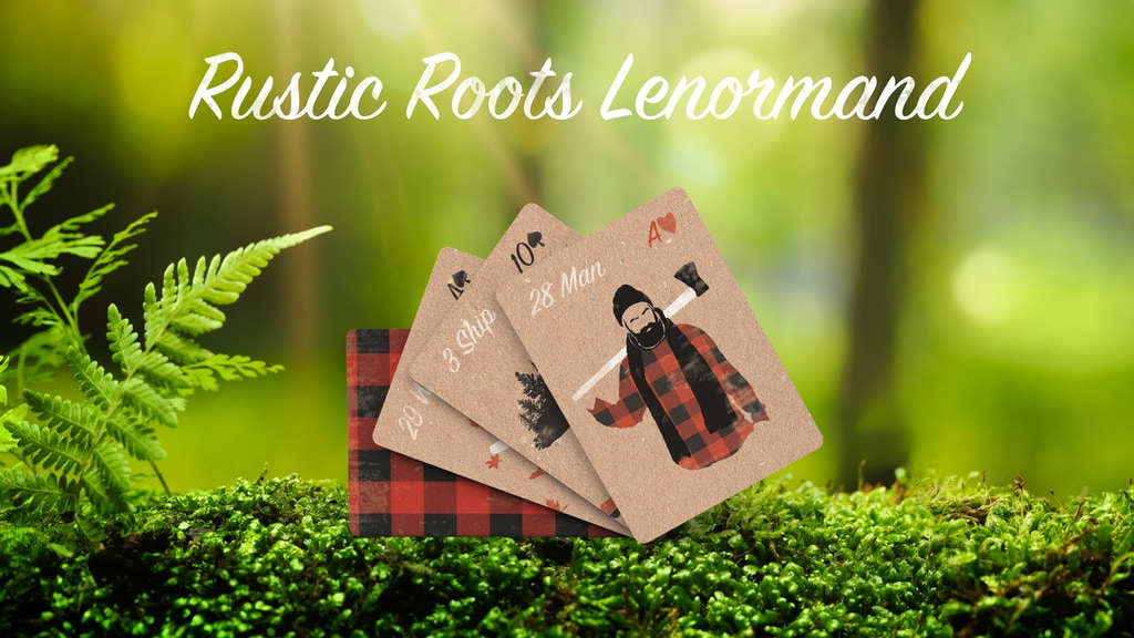 Rustic Roots Lenormand project video thumbnail