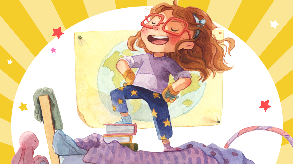 Project image for Amelia the Not-So Small Superhero