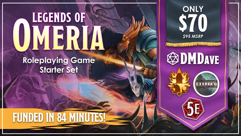 Legends of Omeria Starter Set project video thumbnail