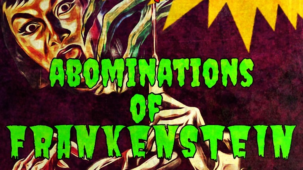 ABOMINATIONS OF FRANKENSTEIN project video thumbnail