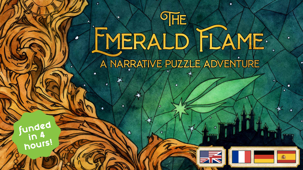 The Emerald Flame - A Narrative Puzzle Adventure project video thumbnail