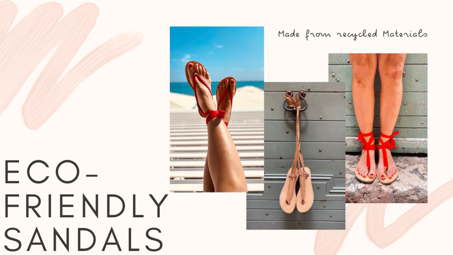 Eco-friendly, Versatile & Ethical sandals for Men & Women handcrafted in France & Spain from recycled materials. (Tire, leather & cork)