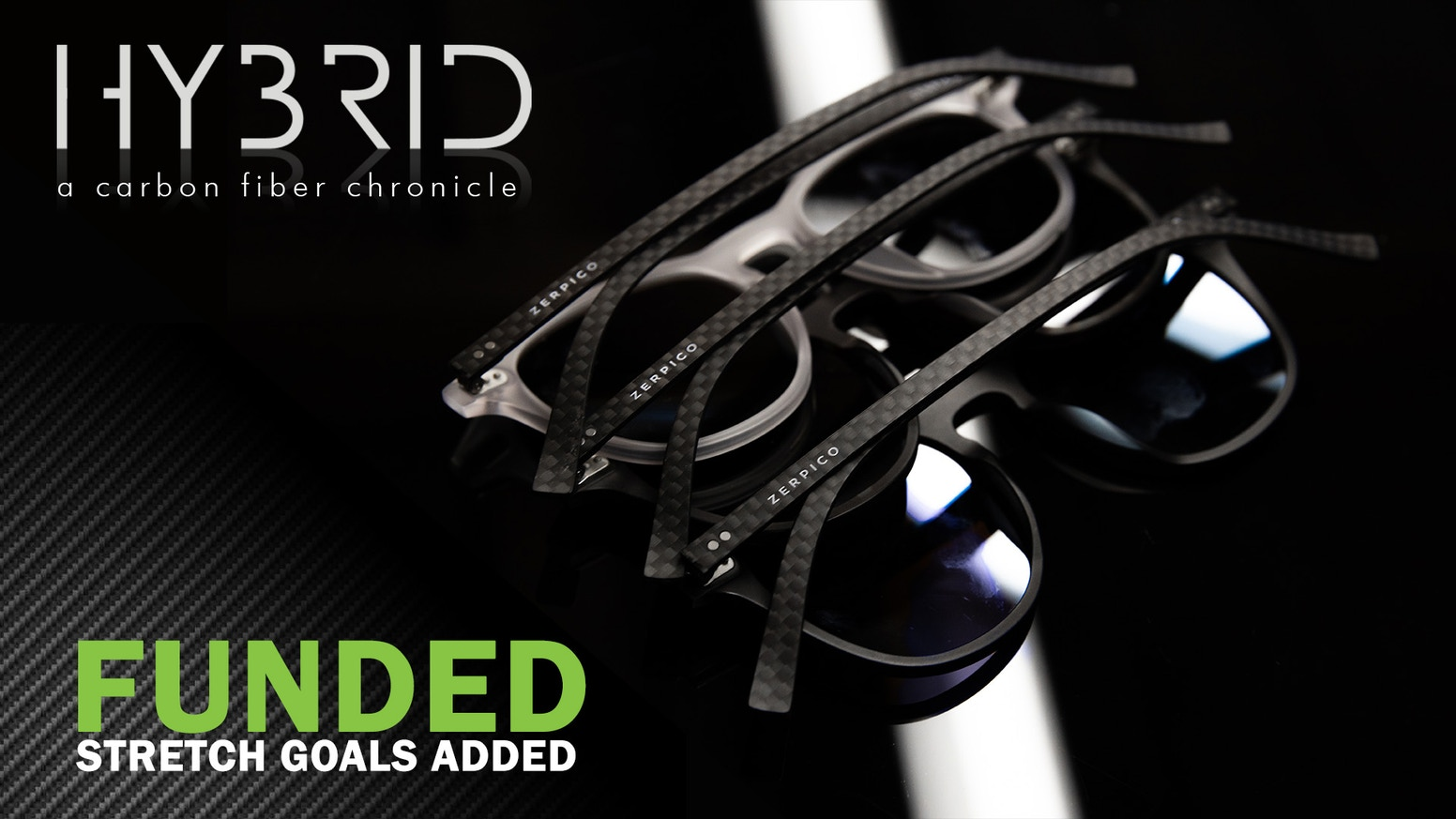 Best of both worlds - Eyewear that can take a beating. A combination of high quality carbon fiber and renewable plant-based acetate.