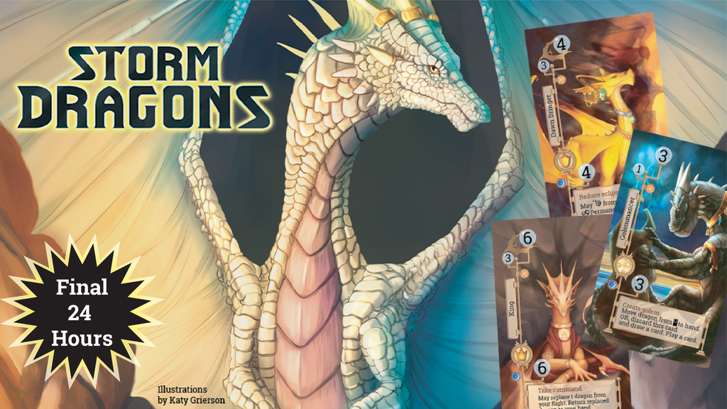 Storm Dragons - Deluxe with 6-player Expansion - Relaunch project video thumbnail