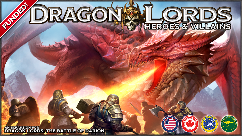 Dragon Lords: Heroes & Villains project video thumbnail