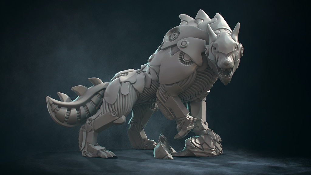 Project image for Mechanimals: L0-B0