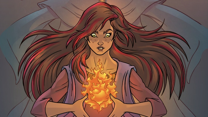 A fire burns to the surface in The Last Ember #1 as Ember Madison comes to terms with the day the fire started.