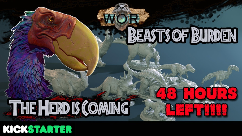 WOR: Beast of Burden - 3D Printable Prehistoric Dinosaurs project video thumbnail