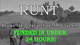 Runt: a materials free & rules-lite roleplaying system thumbnail