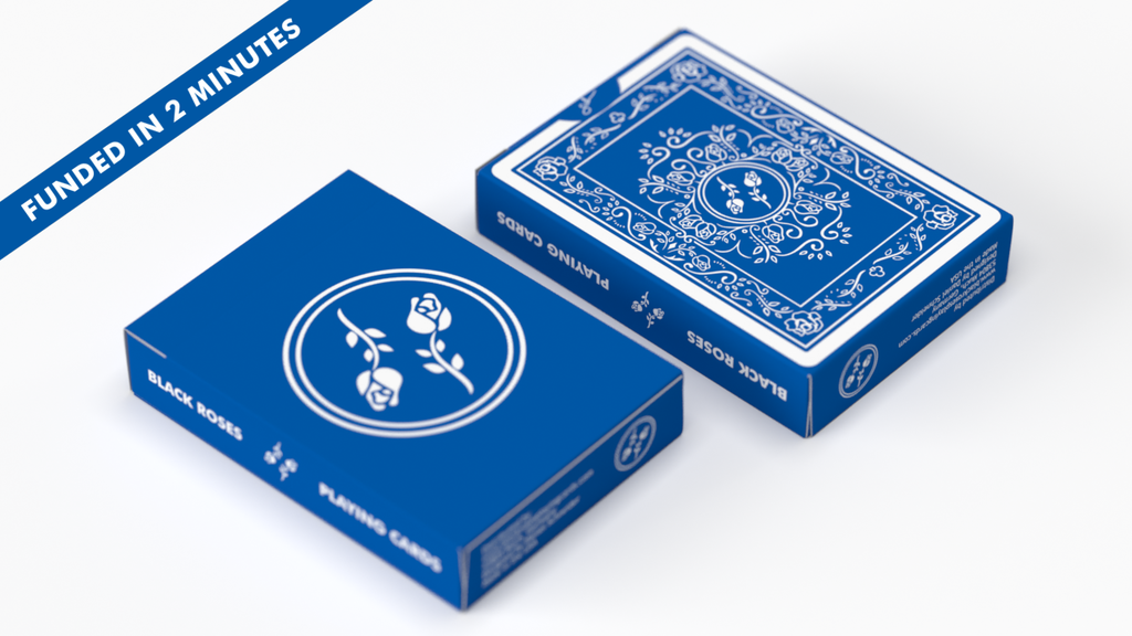 Black Roses Playing Cards: Blue Magic Edition project video thumbnail