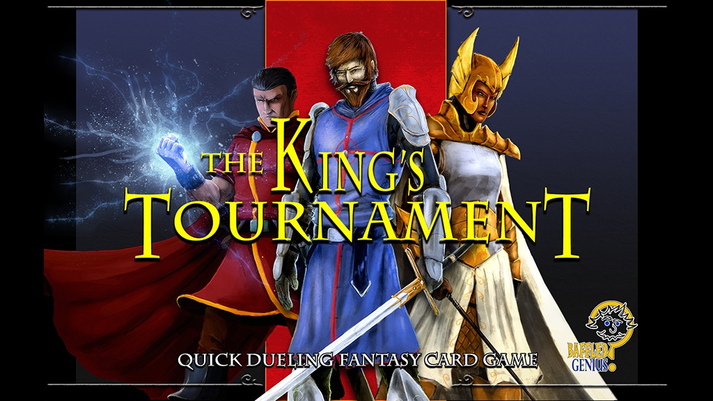 Project image for The King's Tournament Card Game
