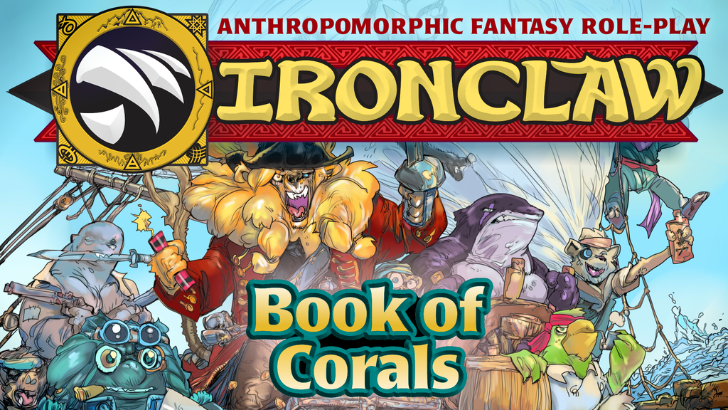 Project image for BOOK OF CORALS - New Options for the IRONCLAW role-playing