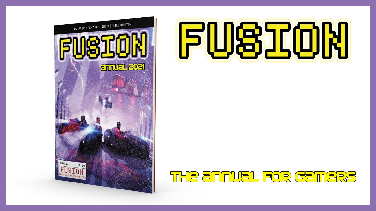 The FUSION 2021 Annual - Christmas would not be the same without it!