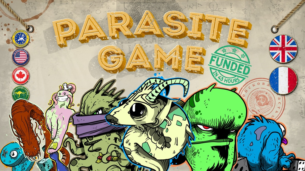 Parasite Game project video thumbnail