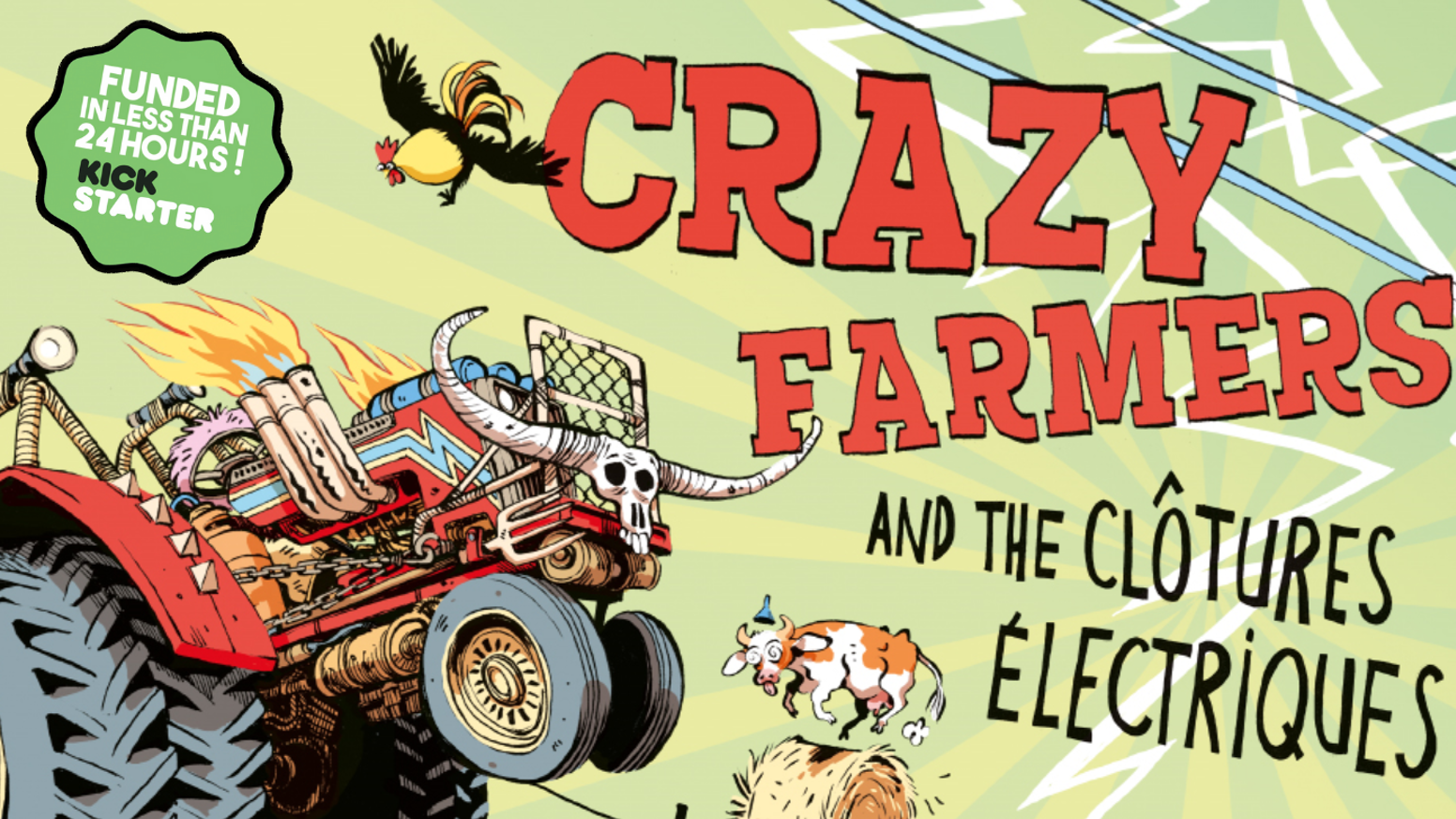 A fun & wacky strategic territory conquest board game where farmers fight each other on their custom tractors to expand their fields.