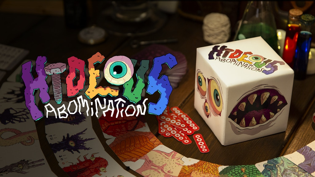 Hideous Abomination: A vile tile-laying game project video thumbnail