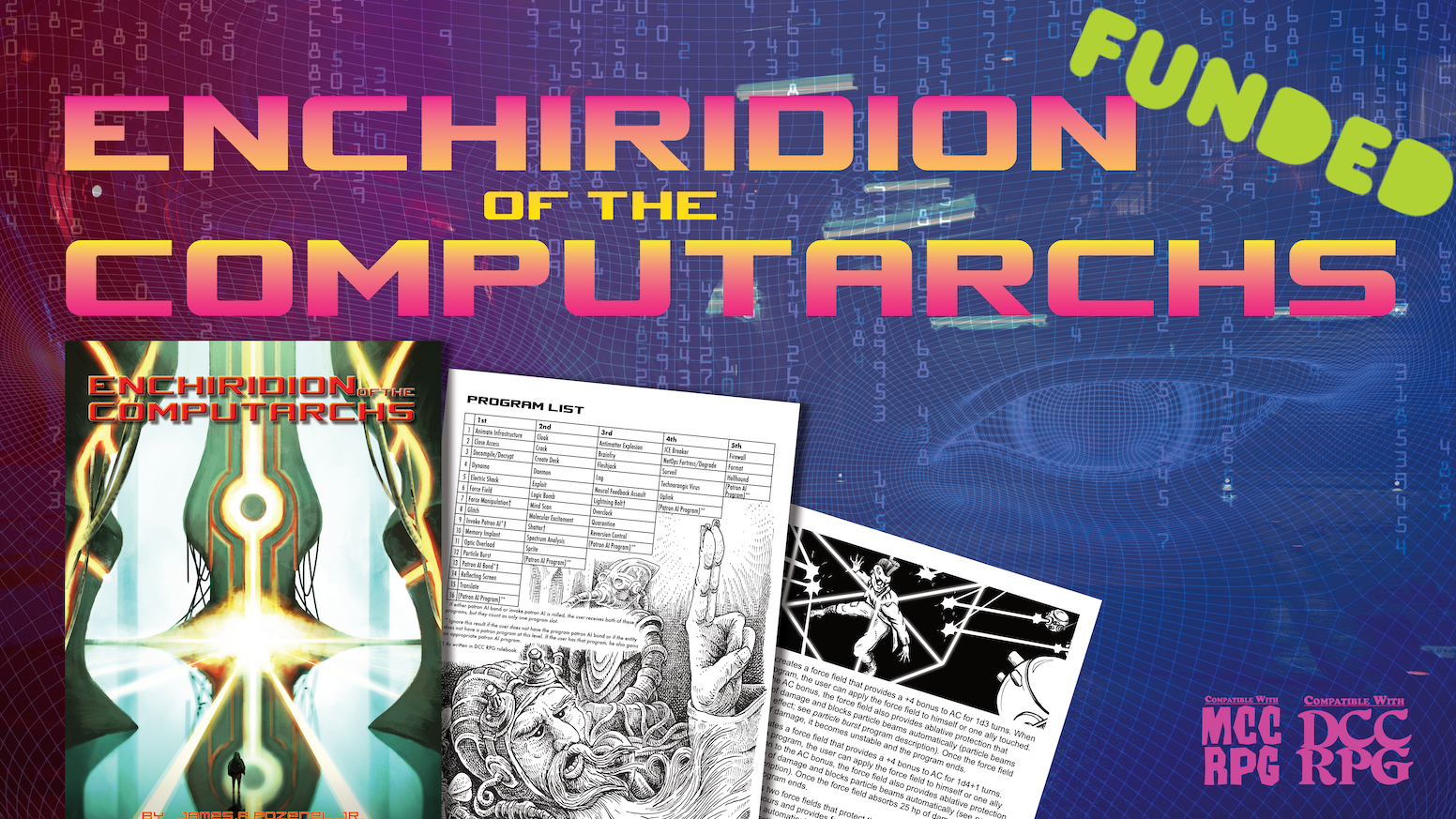 A supplement for high tech casting using the Dungeon Crawl Classics RPG and Mutant Crawl Classics RPG rules.
