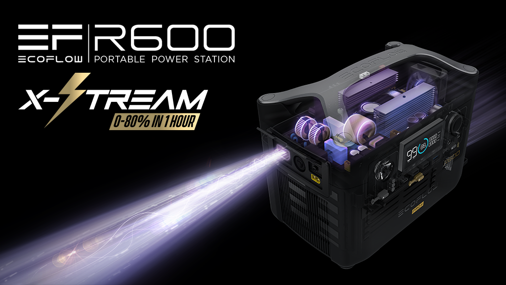 EcoFlow R600 - World's Fastest Charging Power Station project video thumbnail