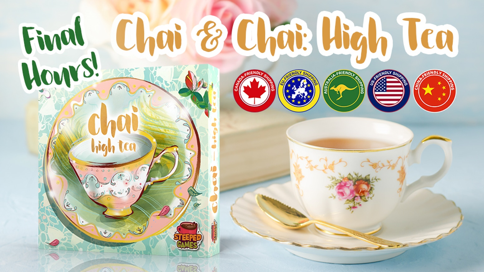 Celebrate the diversity of tea cultures in ☕️ Chai: High Tea, an expansion for ☕️ Chai!