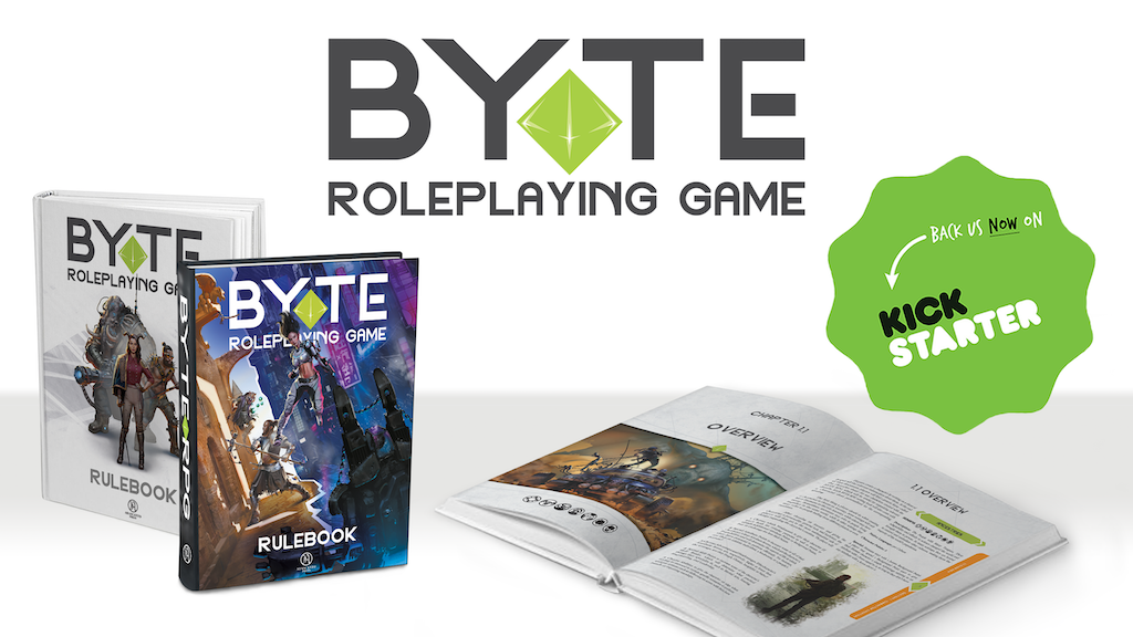 Project image for BYTE Roleplaying Game Rulebook