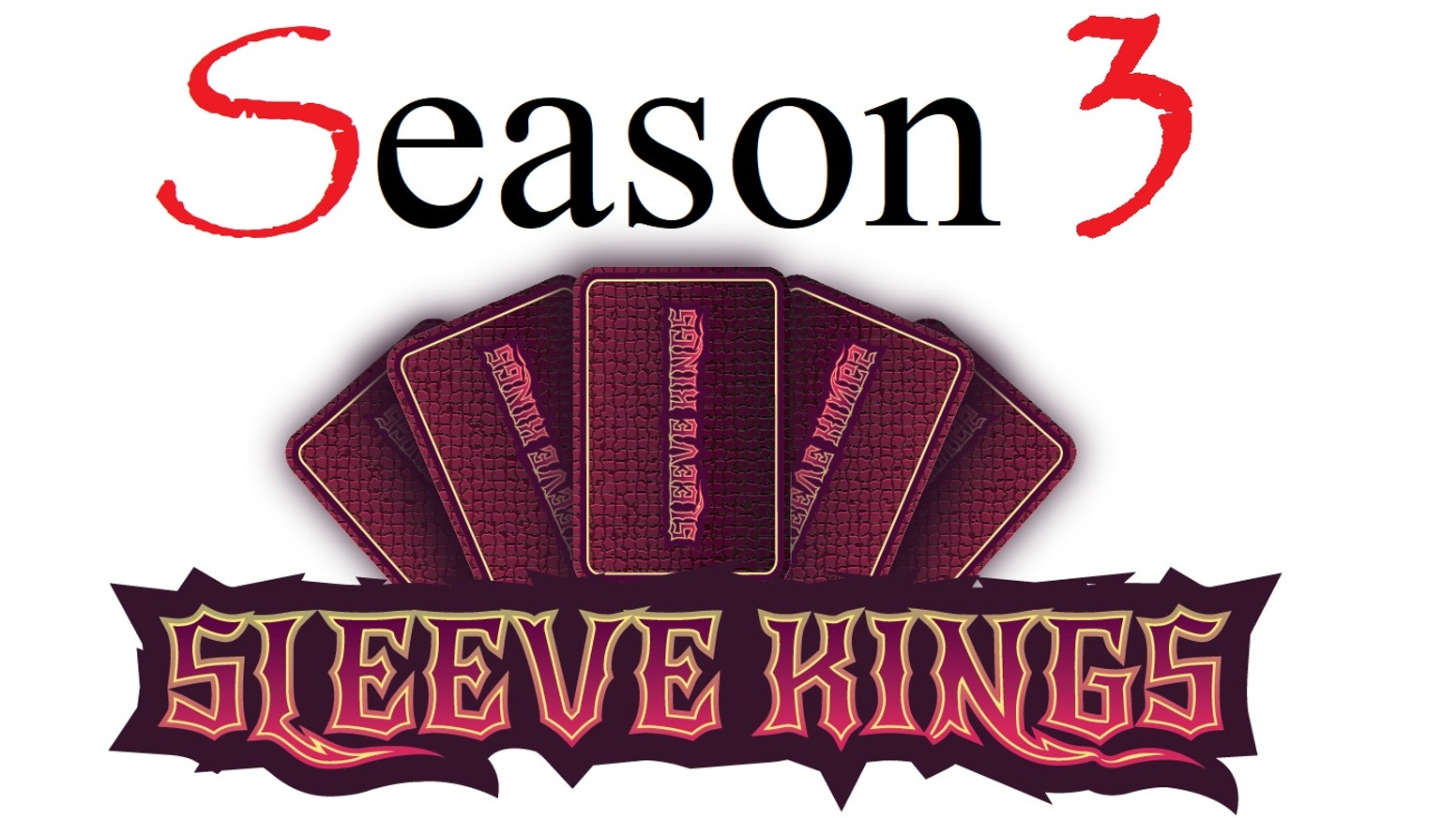 Season 3 of Sleeve Kings unique 60-micron, 110-pack card sleeves featuring our all-new packaging, amazing pricing & our new METAL COINS