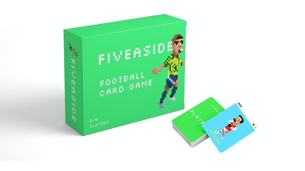 Project image for FIVEASIDE - An 8-bit style football card game