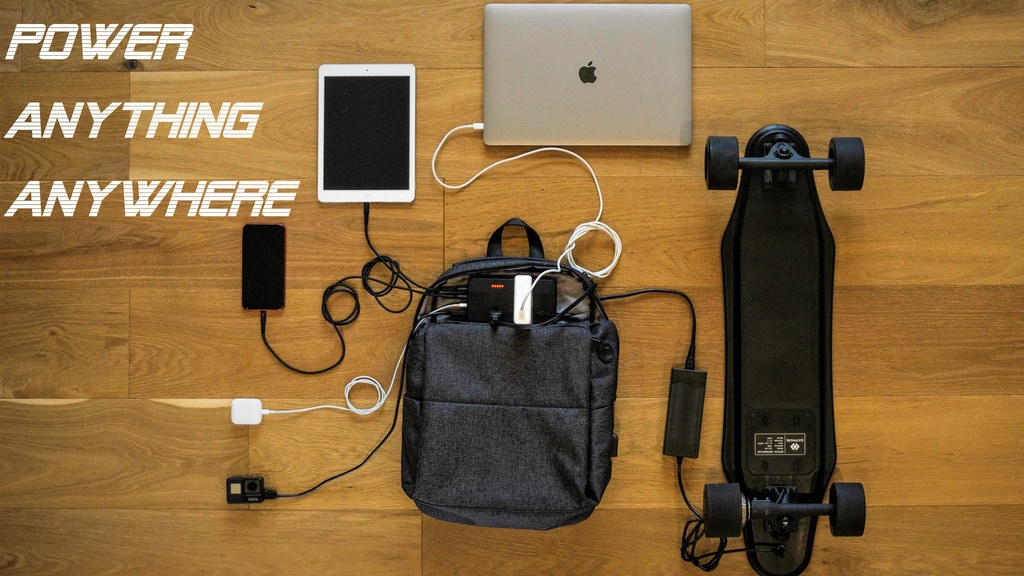 Sapphire Smart Bag: A Perfect Blend of Power and Portability project video thumbnail