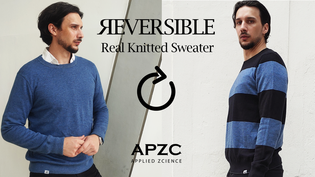 APZC - Reversible Real Knitted Sweater - Two Styles in One project video thumbnail